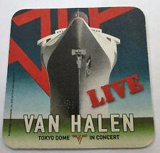 Van Halen Drink Coaster Tokyo Dome In Concert New From 2014 Heavy Metal Live