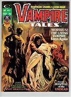 Vampire Tales #7 Morbius Story Movie Coming Hot Book 1974