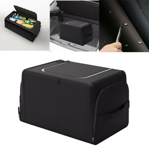 Trunk Cargo Organizer Folding Storage Collapse Bag Bin for Auto Car Truck SUV