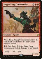 2X FOIL Siege-Gang Commander MTG Magic DOMINARIA 143/269