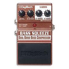DigiTech XBS Bass Squeeze Multi-Band Compressor Bass Guitar Effects Pedal F/S