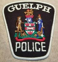 Ca Guelph Canada Police Patch