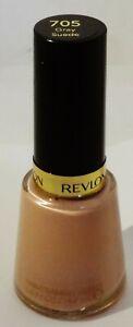 1 Revlon Nail Polish Nail Enamel GRAY SUEDE #705 .5 fl oz (14.7ml) Sealed