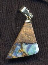 Pendentif d'Opale Boulder d'Australie (Queensland) de 3,65 carats