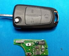 OPEL VECTRA C SIGNUM 3 BUTTON REMOTE KEY FOB WITH BLANK CHIP & BLADE.