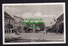 119721 AK Eferding 1939 Marktplatz Fotokarte Bürgercafe Gasthof zur Traube