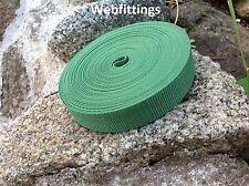 Forrest Verde Correas Cinta de nylon 25mm X 10 metros