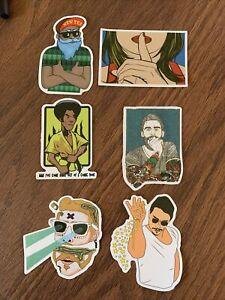 Hipster Sticker Set (6) Boards, Phone Case, Laptop, Mug, Console