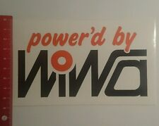 Aufkleber/Sticker: powerd by Wiwa (10091674)