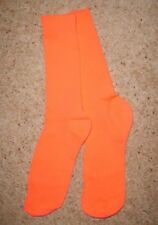 Men's Bright Orange Socks Teddy Boy 50's Rock N Roll Fancy Dress Costume UK 6-11