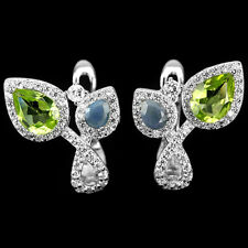 Peridot & Opal Earrings