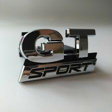 GT SPORT Grill Badge Emblem Logo For VW Golf Scirocco Passat CC Sport