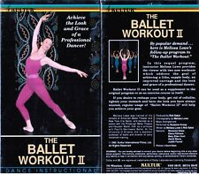 Ballet Workout 2 Dance Instructional VHS Video Tape New