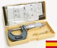Micrómetro Precisión Calibrador Tipo Mitutoyo 0-25mm 0.01mm Herramienta Resisten