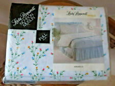 Lady Pepperell Vintage One Full Flat Floral Multi Sheet No-Iron Muslin 81X96 New