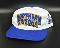 Northern Arizona Lumberjacks Twins Enterprise Vintage 90s Snapback Cap Hat - NWT