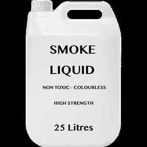 25 Litres Professional DJ Smoke Machine Fluid Juice Liquid Fog Mist Party 25L 5L