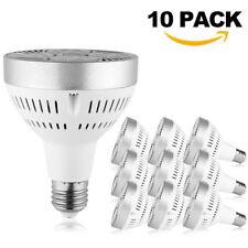 10 Packs 35W E27 Dimmable PAR30 LED Light Bulb Flood Lamp 4000K Neutral White US