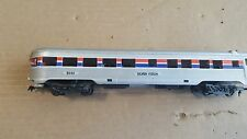 Life like HO Amtrak Silver Vision Lighted Observation car #9545