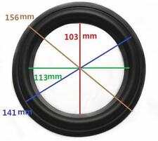 "High Quality 6"" 6inch 156mm Speaker Surround Repair Rubber Edge Replacement *"