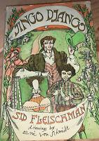 Sid Fleischman JINGO DJANGO 1971 Little, Brown-1st Edition-ERIC VON SCHMIDT