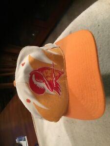 Vintage Logo Athletic Tampa Bay Buccaneers Sharkstooth SnapBack Hat
