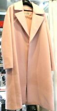 Pre-owned - CHRISTIAN DIOR Blush Pink Virgin Wool Long Coat Size 8 US
