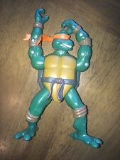 "TMNT Combat Warriors Mike Action Figure 2005 Playmates Michelangelo 5"" tall (3)@"