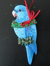 Blue Parrotlet Holiday Christmas Tree Ornament