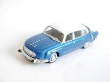 Tatra 603-1 in blau bleu blu blue metallic / weiß bianco white, IXO in 1:43!