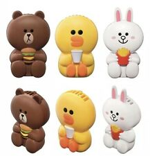 McDonalds x Line Friends Brown Sally Cony Portable Fans NEW
