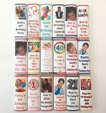 30 Personalised School Teacher , School Leavers  Chocolate Bar WRAPPERS