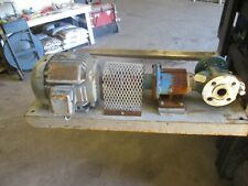 """Viking 1 1/2"""" Stainless Pump/ Lincoln Motor #416310H Used"""