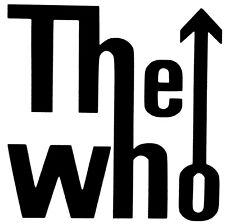 THE WHO VINYL DECAL STICKER CAR WINDOW LAPTOP GAME SYSTEM WALL