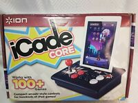 ION iCADE Core Arcade Game Joystick  Controller for Apple iPad box instructions