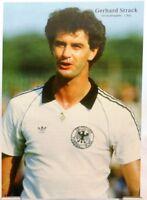Gerhard Strack + Fußball Nationalspieler DFB + Fan Big Card Edition + B535 +