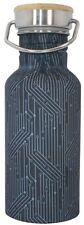 BEAU & ELLIOT Mens Circuit  Stainless Steel Drinks Bottle Lunch NAVIGATE Picnics