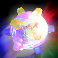 LED Light Jumping Activation Ball Light Music Flashing Bouncing Vibrati Toy