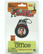 World's Coolest Dwight Schrute - The Office Talking Keychain Tv Show Quotes
