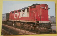 Canadian National #3152 RS 18 (Bright TEMPO Passenger Colors) Train Postcard