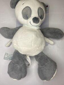 NATTOU LOU LOU PANDA PULL STRING MUSICAL PLUSH  TEDDY BEAR BABY AGE 0+ BNWT