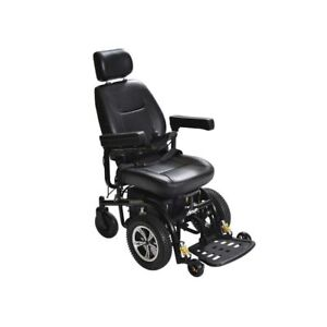 NEW Drive Medical Trident Front Wheel Drive Power Chair - 20 inch Seat