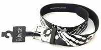 Misfits Fiend Skull & Bones 100% Leather Belt New Official Band Merch