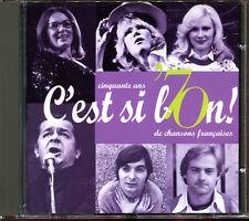 C'EST SI BON - 50 ANS DE CHANSON FRANCAISE - CD COMPILATION [2812]