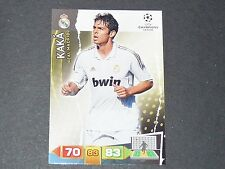 KAKA BRASIL REAL MADRID UEFA PANINI FOOTBALL CARD CHAMPIONS LEAGUE 2011 2012