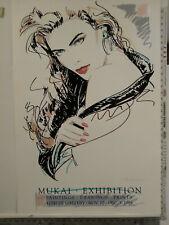 DENNIS MUKAI 1988 EXPO POSTER FOIL RELIEF - NEVER FRAMED - MINT!