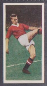 CADET SWEETS FOOTBALLERS TRADE CARD 1958 - #25 BOBBY CHARLTON 28mm title ROOKIE