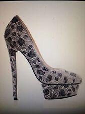 Kandee Sasha Embelished Platform High Heel Shoes RRP £160