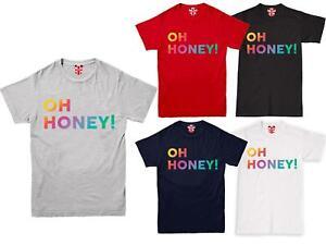 Oh Honey Proud Gay Pride T Shirt Rainbow Tshirt Lesbian Tee Top LGBT Festival