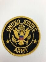 "Vintage United States Army 4"" Round Embroidered Patch NOS"